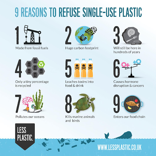 9 reasons to refuse single-use plastic - Less Plastic