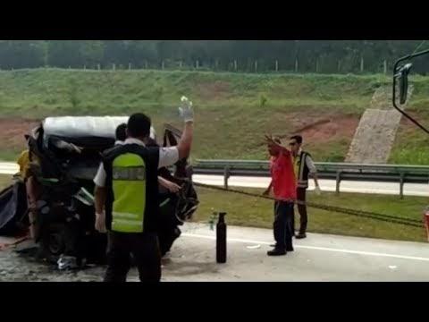 Kecelakaan di Tol Cipali, 5 Orang Tewas