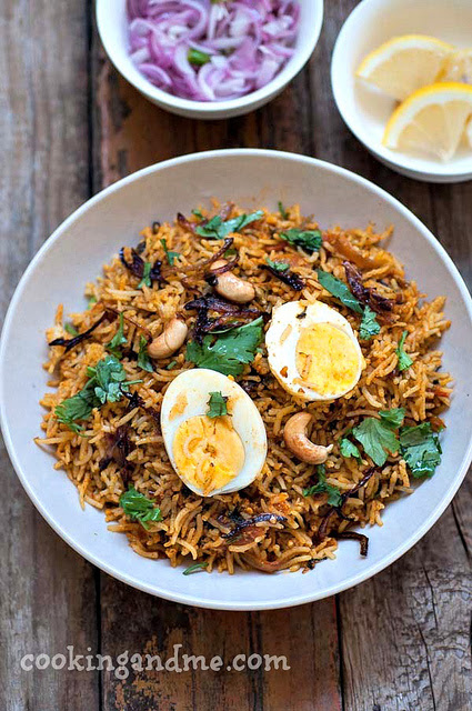 Egg Biryani Recipe - How to Make Egg Biryani Indian-Style - Edible Garden
