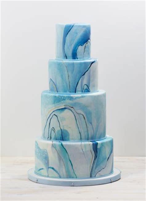 Whipped Bakeshop: Blue Marble Wedding Cake