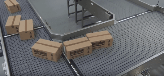These omnidirectional conveyor belts are a total trip