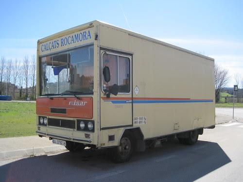 Camió Avia carrossat per MISAR a Banyoles (Pla de l'Estany)