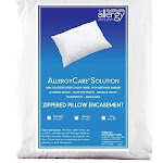 Allergy Store AllergyCare Stretch Knit Pillow Covers - Euro Square, 100% Polyester | Allergy-Reducing Relief