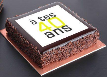 anniversaire24: image gateau anniversaire 40 ans