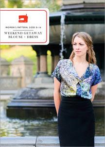 digital weekend getaway blouse + dress sewing pattern