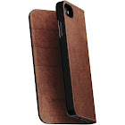 Nomad Folio Leather Case for iPhone 7/8   Brown