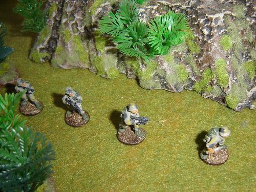 2nd Fire Team - Sakhan Light Infantry