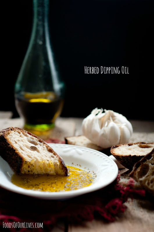 Herbed Dipping Oil