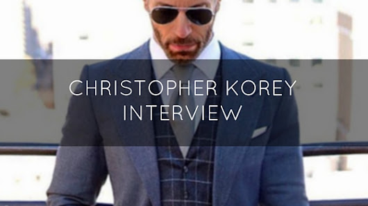 Old Hollywood With A Modern Twist: Christopher Korey Interviewed - My Dapper Self