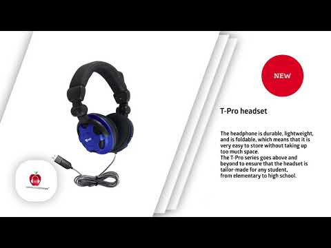 T-PRO School Headset with Noise-Cancelling Mic