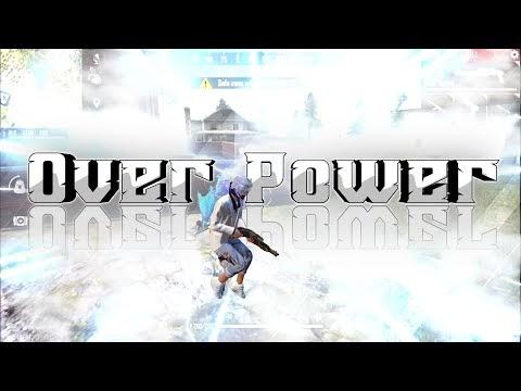 Free Fire Gameplay - Over Power - INSANE KILLER