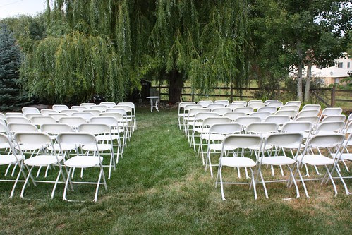 Setup for the Wedding