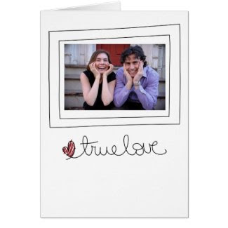 valentines photo card