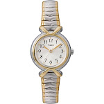 Women's Timex Expansion Band Watch - Two Tone T218549J, Silver