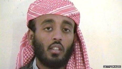 Imagen de  Ramzi Binalshibh, detenido en Guantánamo