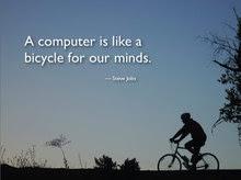 Un computer è come una bicicletta per le nostre menti