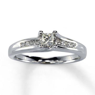 Modern rings for newlyweds Yellow diamond engagement rings jared