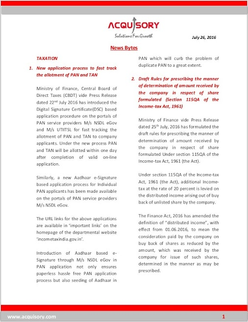 OTHERS #Amendment to #Patent #Rules  Ministry of Commerce & Industry vide Press Release dated 25th July...