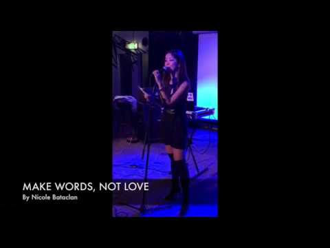Poetry reading: MAKE WORDS, NOT LOVE