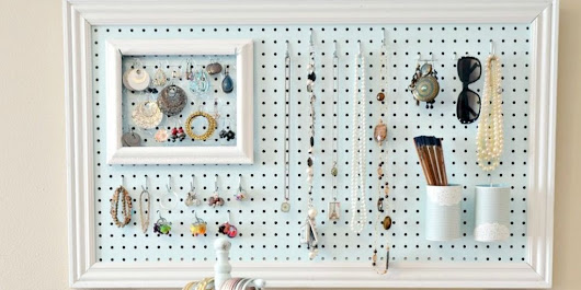 11 Genius Ways to Organize With Pegboards