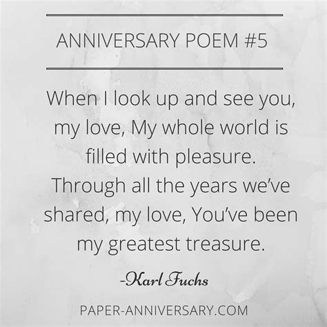10 Ridiculously Romantic Anniversary Poems for Her