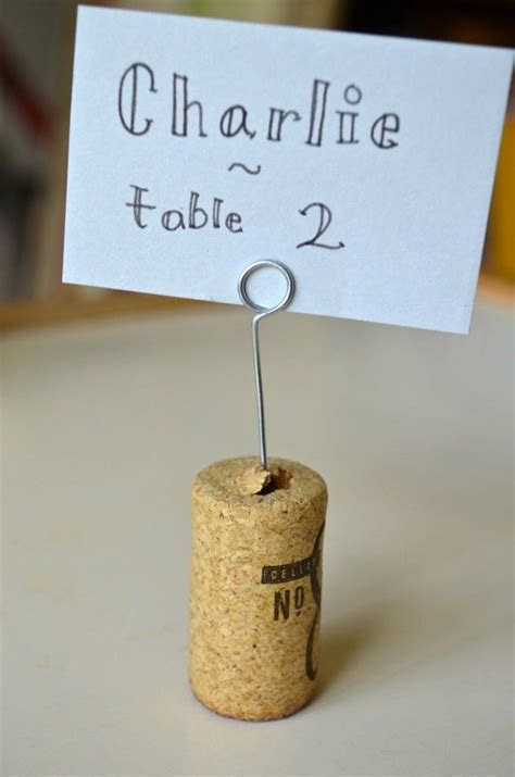 DIY Place Card Holders, I would make it a little bit more