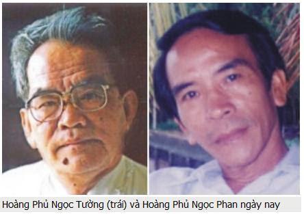 Image result for Hoàng Phủ Ngọc Tường và Hoàng Phủ Ngọc Phan