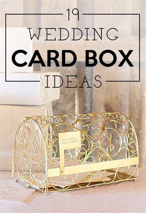 Best 25  Wedding gift card box ideas on Pinterest   Silver