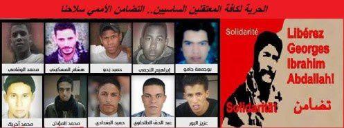 Grève de la faim illimitée des prisonniers maoïstes au Maroc