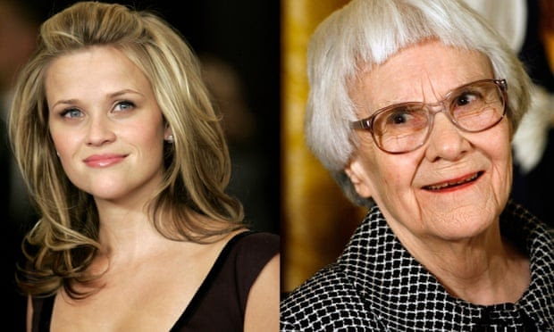 Reese Witherspoon and Harper Lee