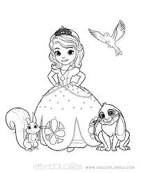 Imágenes Para Colorear De La Princesa Sofia Descargar Imágenes Gratis