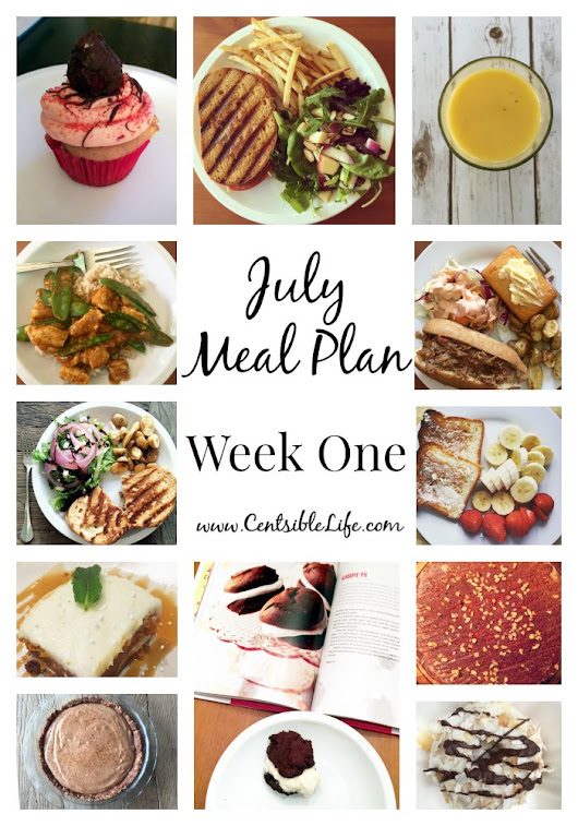 July Meal Plan: Week One - Centsible Life