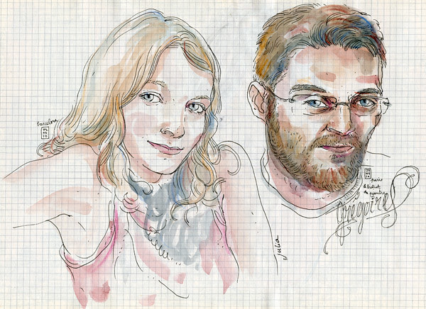 julia & grégoire