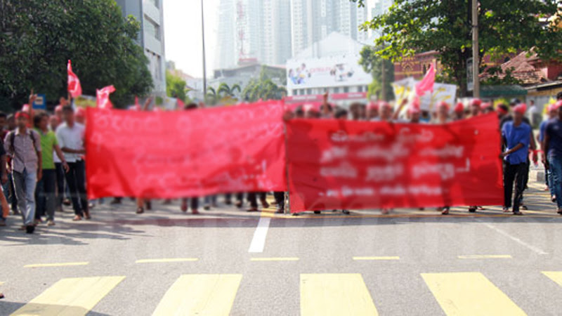 Court orders IUSF protesters not to obstruct public