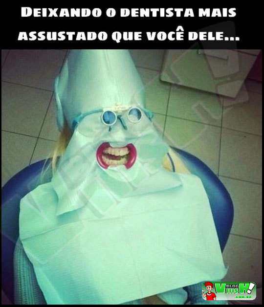 Blog Viiish - Deixando o dentista com medo