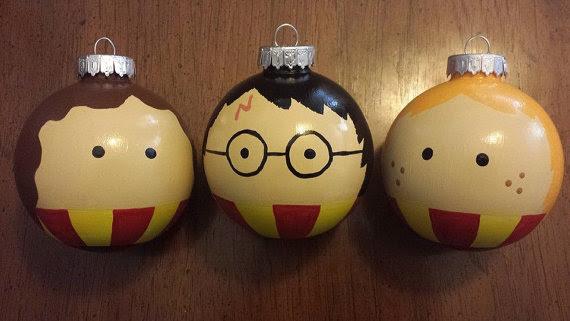 Resultado de imagem para harry potter christmas decorations