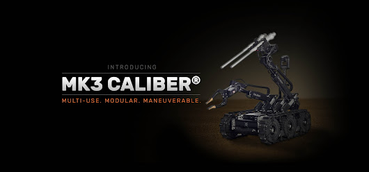 MK3 CALIBER® - ICOR Technology - Tactical & Security Robotics Products