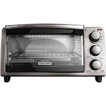Black & Decker TO1373SSD 4-Slice Convection Toaster Oven - Stainless Steel