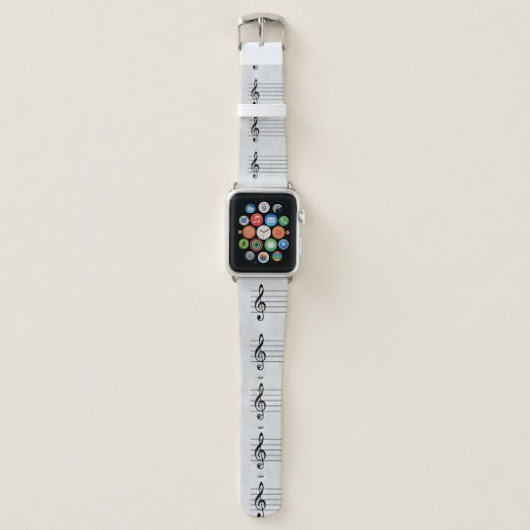 notated page apple watch band