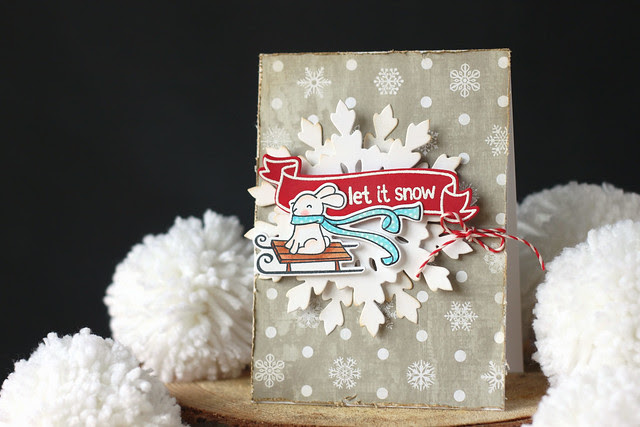 let it snow {lawn fawn + thermoweb week}