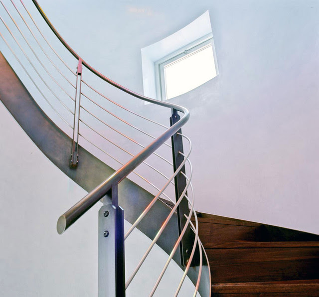 Downtown Duplex - contemporary - staircase - new york - by Axis Mundi