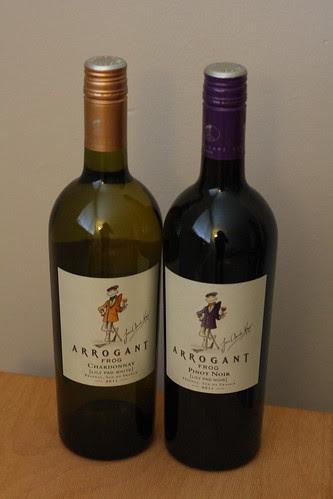 Arrogrant Frog Wine