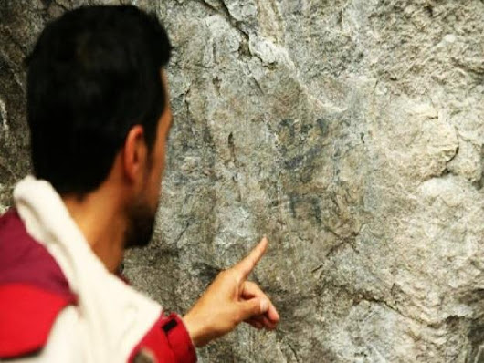 Ancient paintings discovered near Machu Picchu