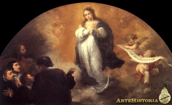 Inmaculada Concepción con seis figuras