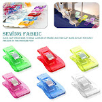 FleinngHoz 50pcs Patchwork Sewing Clip Binding Sewing Small Clamp DIY Crafts Clips