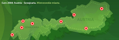 Mapa Austrii