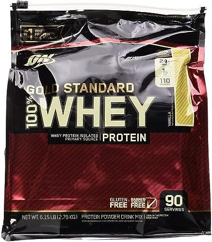 Best 2020 - Optimum Nutrition Gold Standard 100% Whey Protein,(Vanilla) 80 Servings