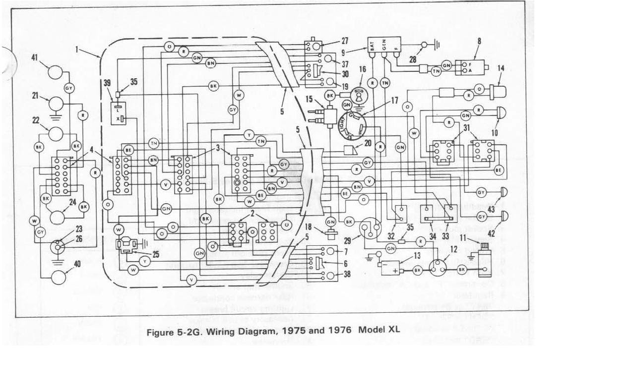 Harley Flh Wiring Diagram Basic Basement Wiring Diagram Goldwings Yenpancane Jeanjaures37 Fr