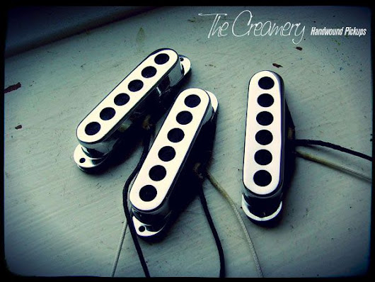 Creamery Handwound Pickups - Custom Replacement Strat/Stratocaster Pickups