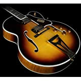Gibson Custom Shop HSS4VSGH1 Hollow-Body Electric Guitar, Vintage Sunburst